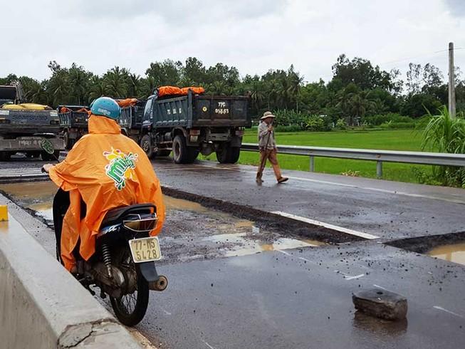 Dừng thu phí quốc lộ 1 nếu chậm sửa chữa