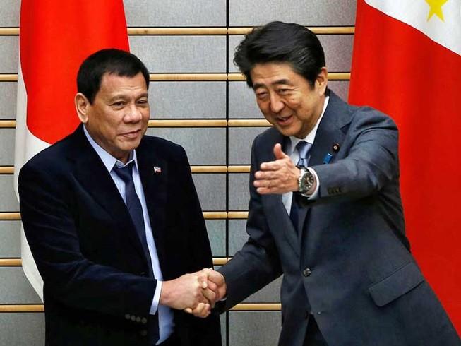 Duterte khẳng định pháp quyền ở biển Đông