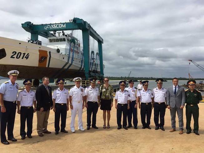Khánh thành cơ sở sửa chữa, bảo dưỡng tàu cảnh sát biển