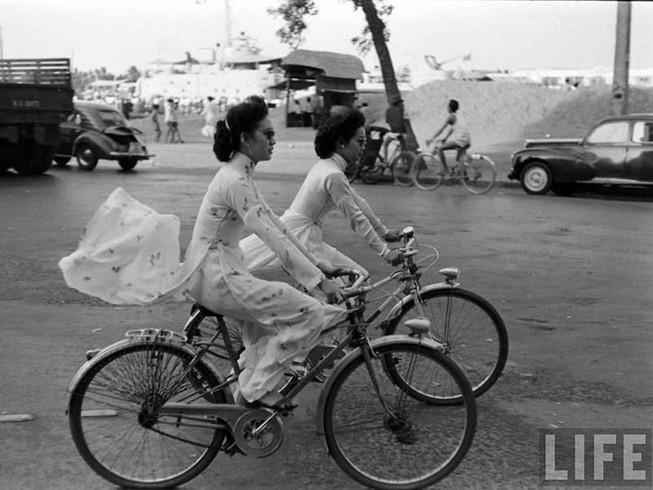 Thú đi xe đạp những năm 1960…