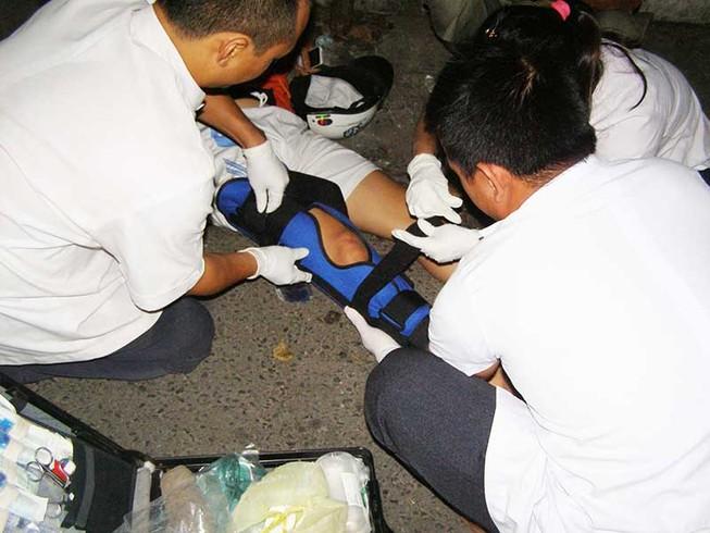 Cứu nạn nhân kịp thời nhờ thiết bị định vị