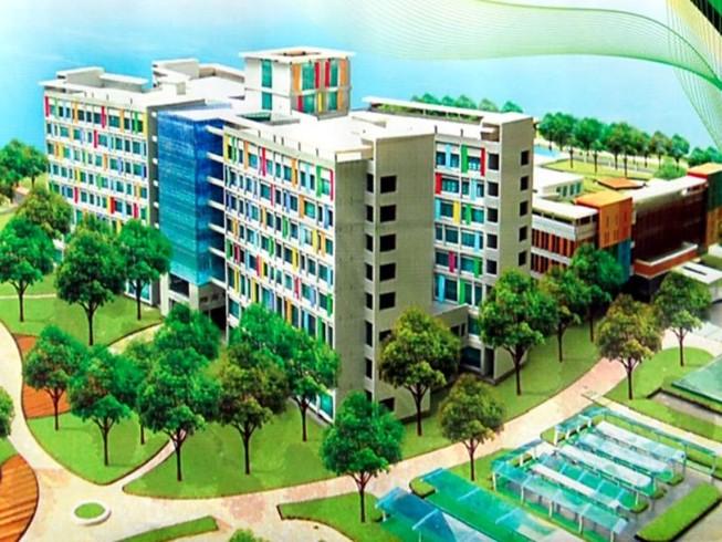 BV Nhi đồng mới dự kiến hoàn thành cuối tháng 12-2016