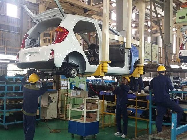 Sản xuất ô tô là kinh doanh có điều kiện?