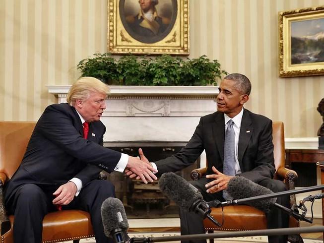 Ông Trump dọn đường vào Nhà Trắng