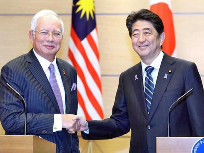 Nhật ký thỏa thuận cấp cho Malaysia 2 tàu tuần tra lớn