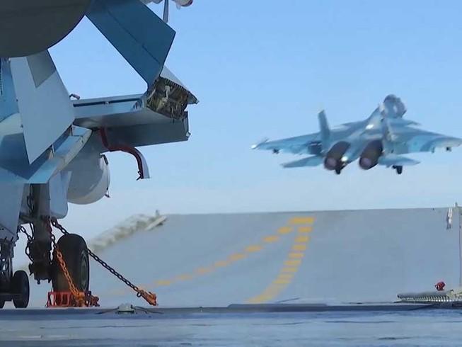 Sau khi Putin điện đàm với Trump, Nga dội bom Syria