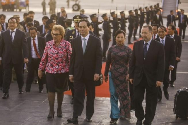 Chủ tịch nước đến Peru tham dự diễn đàn APEC