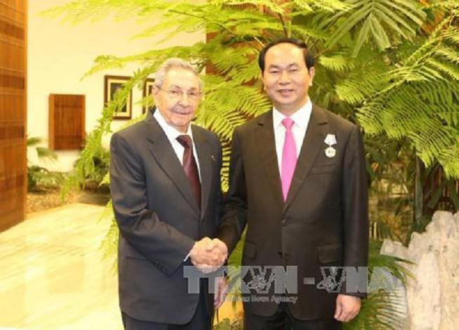 Tăng cường hợp tác toàn diện Việt Nam - Cuba