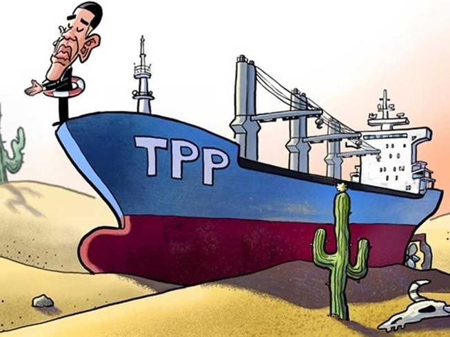TPP không phải món quà cho Bắc Kinh