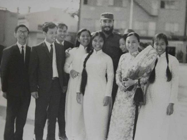 Chủ tịch Fidel với mối tình Việt Nam - Cuba