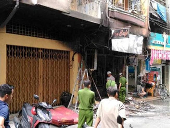 Đám cháy 6 người chết thương tâm nghi do chập điện