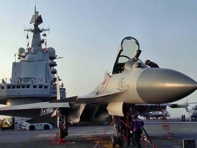 Nhật và Đài Loan bám sát tàu sân bay Trung Quốc