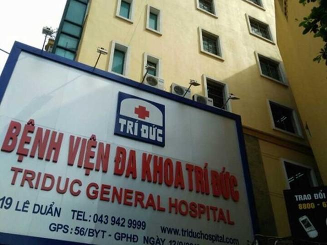 Tạm đình chỉ việc phẫu thuật, gây mê tại BV Trí Đức