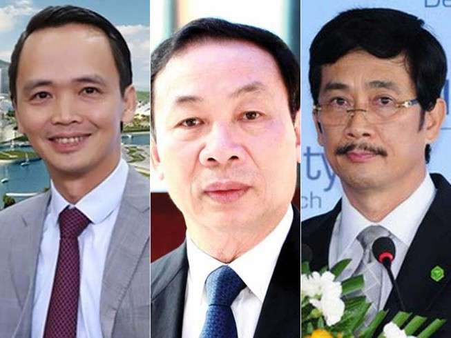 Nhiều tỉ phú người Việt lộ diện
