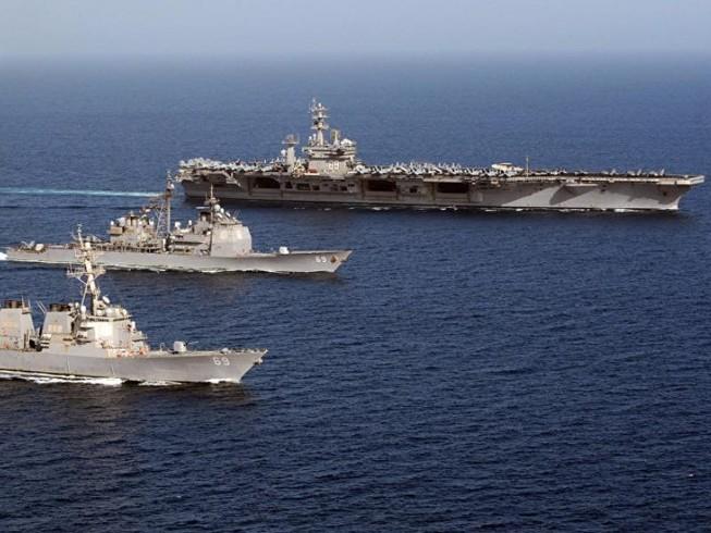 Mỹ rút toàn bộ tàu sân bay về nước
