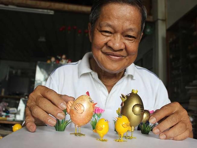 Ước mơ của người tạo ra gia đình gà hạnh phúc