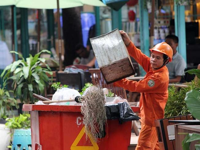 7.000 công nhân tổng vệ sinh TP trong dịp tết