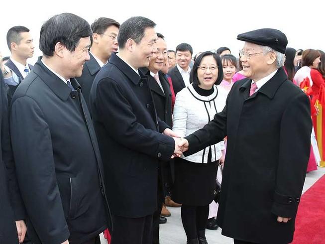 Tổng Bí thư kết thúc chuyến thăm CHND Trung Hoa
