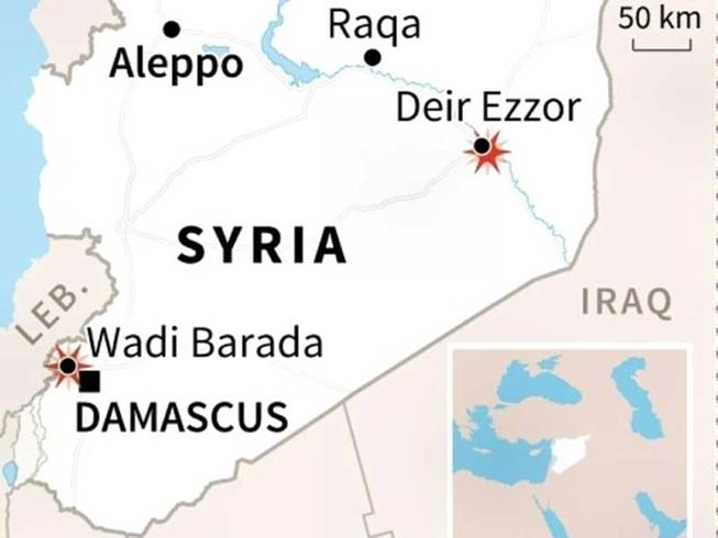 5.000 tay súng IS chạy từ Iraq về Syria