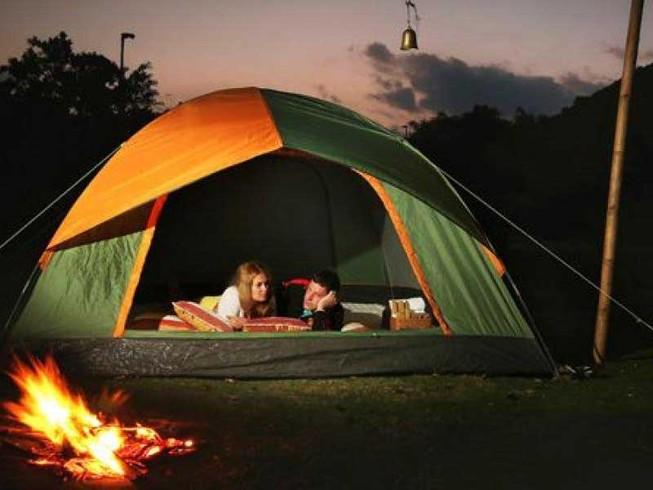Muốn ngủ ngon, hãy đi… cắm trại