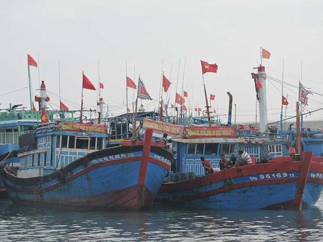 Ngư dân mở biển, ra ngư trường Hoàng Sa