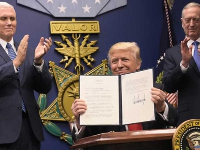 Ông Trump với phép thử 'kiểm soát và cân bằng'