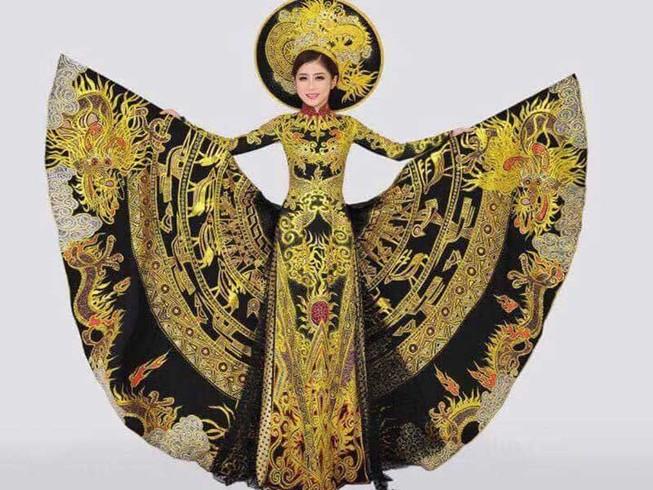 Á khôi Trương Thái Thùy Dương thi Miss Heritage 2017
