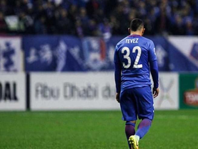 Cú sốc đầu của Tevez tại Trung Quốc
