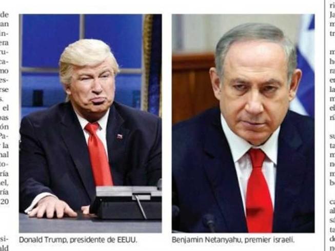 Báo Dominica nhầm ảnh diễn viên hài với ông Trump