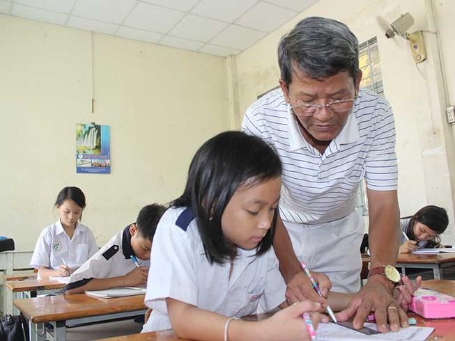 Lớp học đặc biệt trên đường Tống Văn Hên