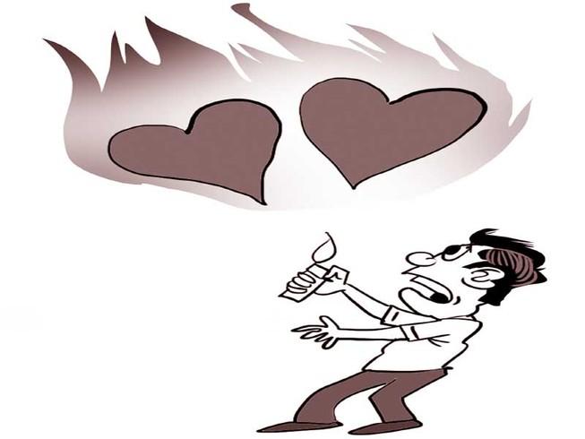 Bong bóng lễ Valentine gây họa quán bar