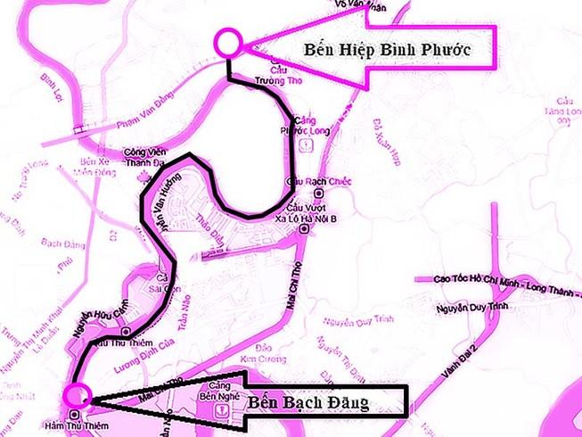 Buýt đường sông TP.HCM hoạt động ra sao?