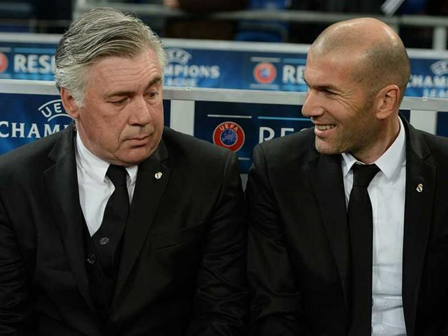 HLV Ancelotti phấn khích khi đối đầu Real Madrid