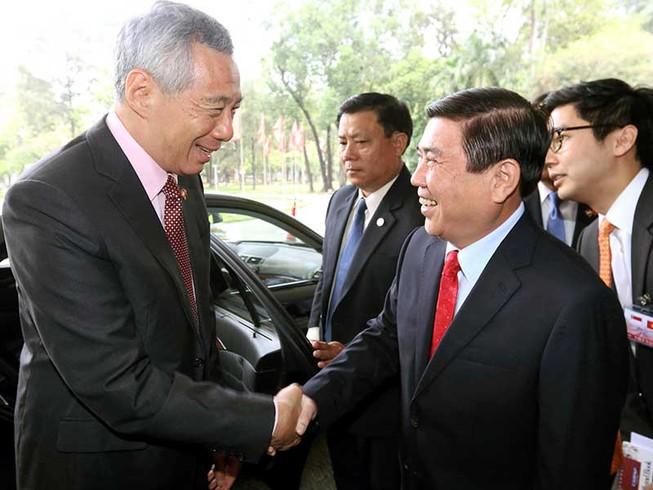 Lãnh đạo TP.HCM hội kiến thủ tướng Singapore