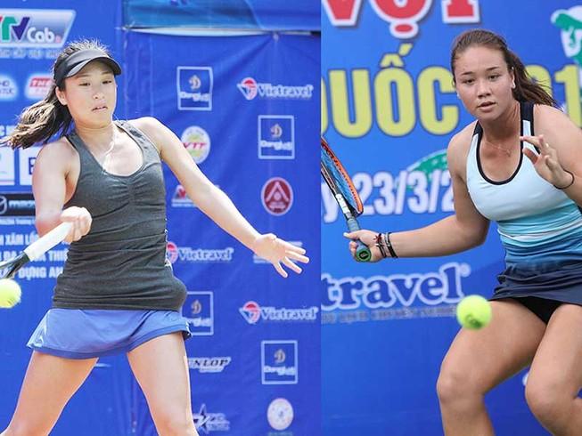 Các tay vợt Việt kiều lấn át sân quần vợt