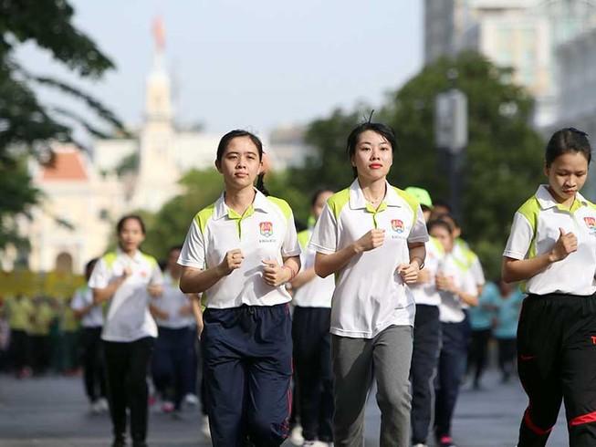 Hà Nội, TP.HCM hưởng ứng Ngày chạy Olympic 2017