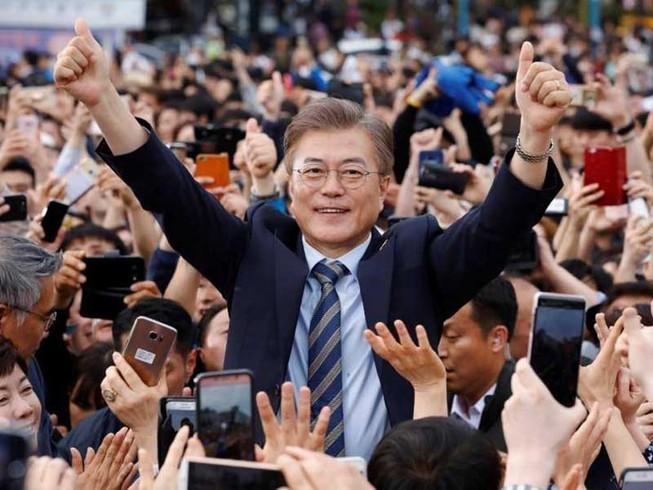 Tân tổng thống Hàn Quốc và tam giác Mỹ-Trung-Triều