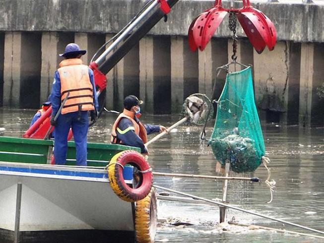 Đề xuất giải pháp 'tỉa' cá ở kênh Nhiêu Lộc-Thị Nghè