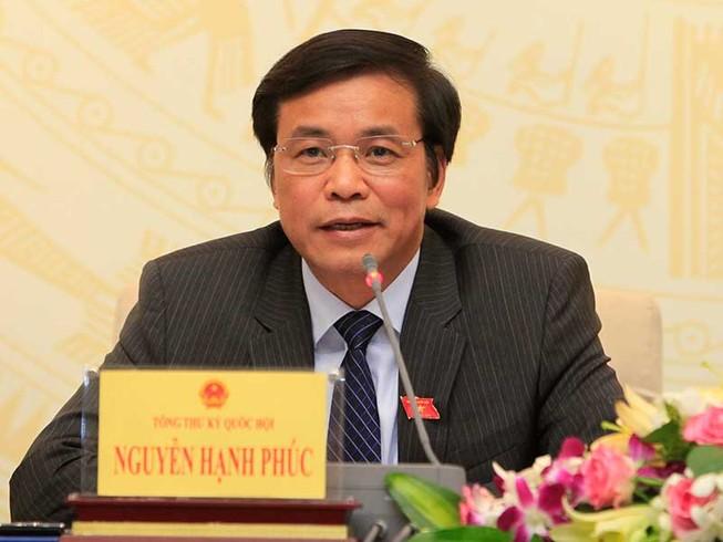Quốc hội nói về đại biểu Đinh La Thăng, Võ Kim Cự