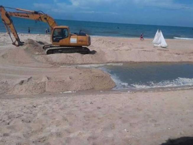 Phạt vì… làm đẹp bãi biển!