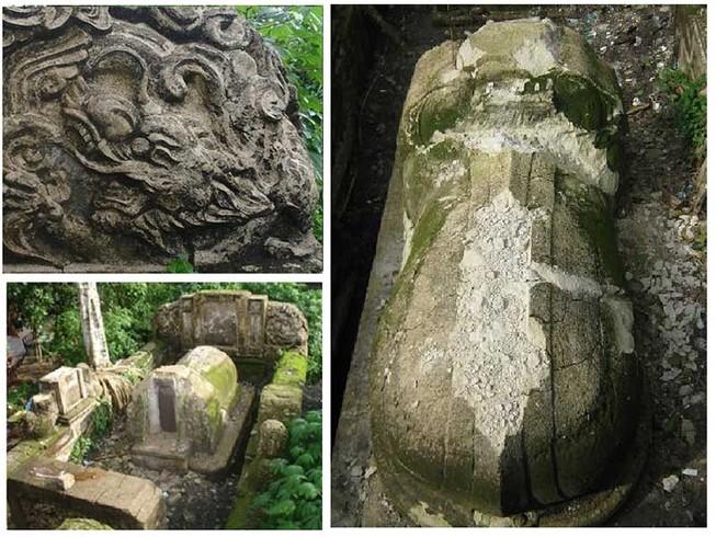Ngôi mộ bí ẩn dưới chân đường cao tốc