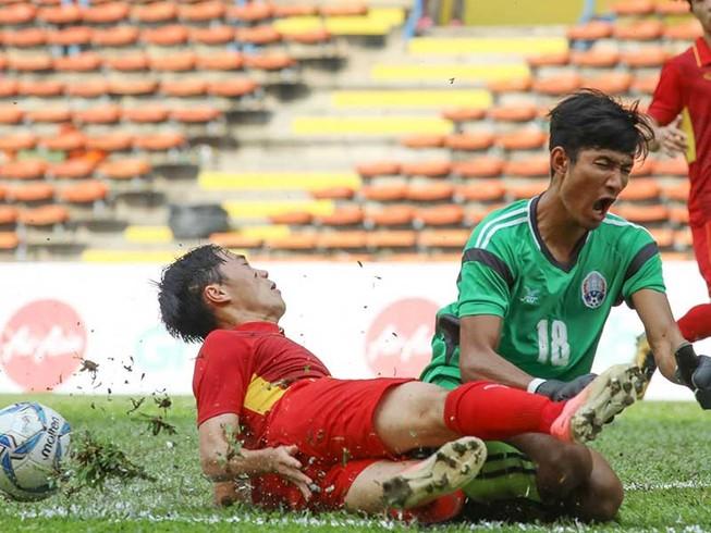 Trận Việt Nam-Campuchia tại SEA Games bị nghi có bán độ