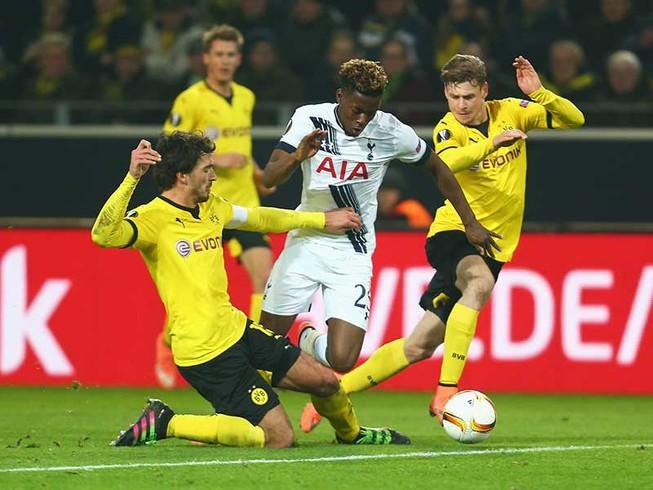 Tottenham-Dortmund: Wembley đón chào các chiến binh Đức