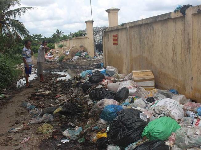 Dân kêu cứu vì bãi rác gây ô nhiễm quá nặng
