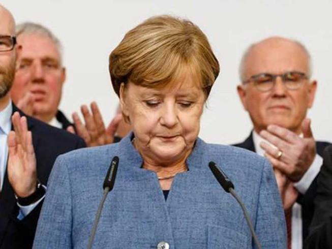 Bà Merkel trước cơn địa chấn của phe cực hữu