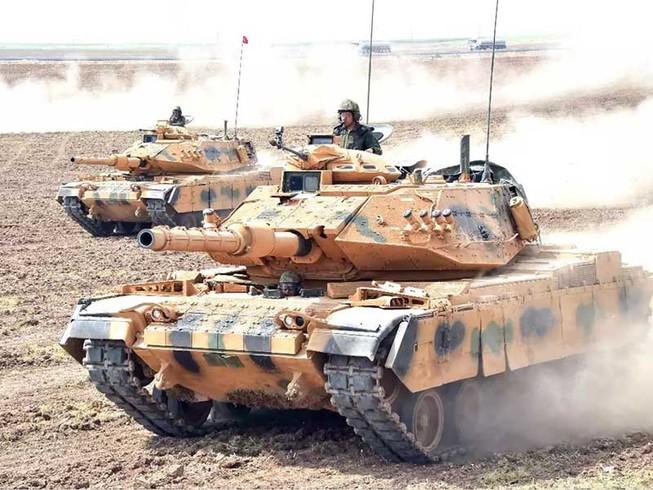 Xe tăng Iran, Thổ Nhĩ Kỳ áp sát biên giới Iraq