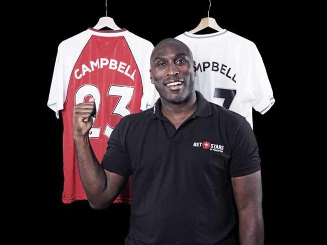 Xem V-League và bình luận bóng đá cùng Sol Campbell