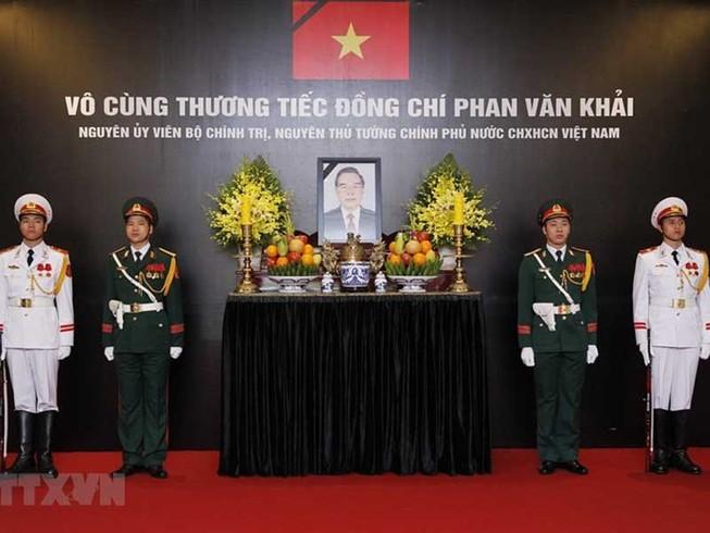 Hàng triệu người thương tiếc cố Thủ tướng Phan Văn Khải