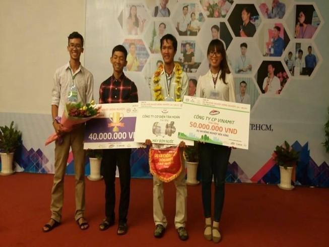 Lúa sạch đạt giải nhất cuộc thi 'Dự án khởi nghiệp'
