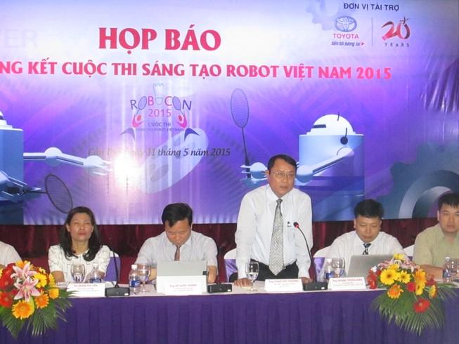 Lần đầu tiên tổ chức thi Robocon Việt Nam 2015 tại TP Cần Thơ